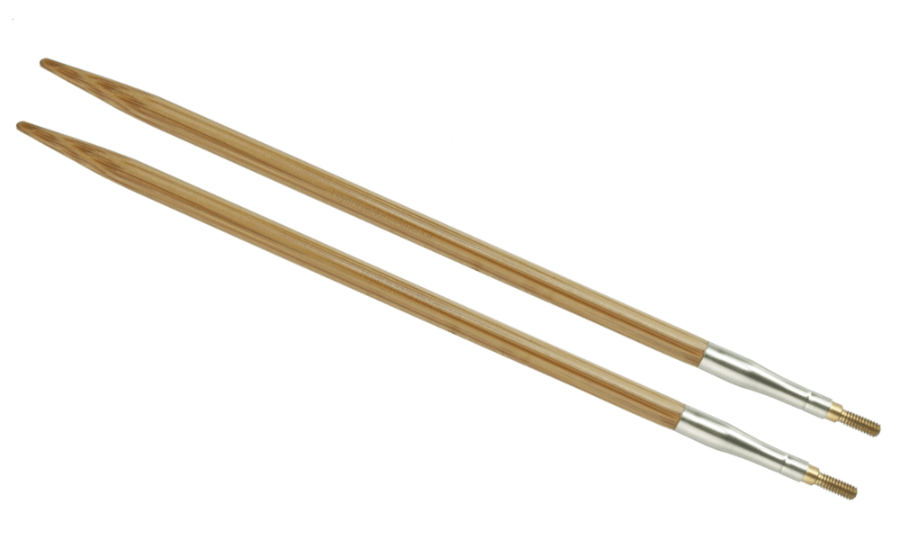 HiyaHiya Interchangeable Bamboo Knitting Needle Tips - 5""
