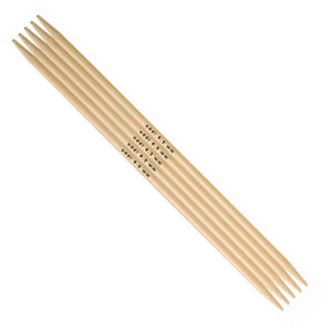 addi Bamboo Double Pointed Knitting Needles - 6""