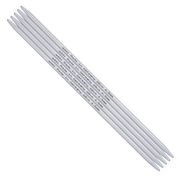 addi Aluminum Double Pointed Knitting Needles - 8""