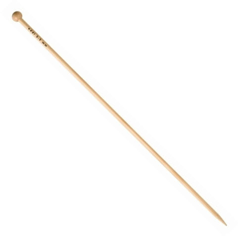 addi Bamboo Single Pointed Knitting Needles - 14""