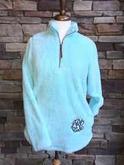 Solid Sherpa Pullover - Ladies - Several Color Options