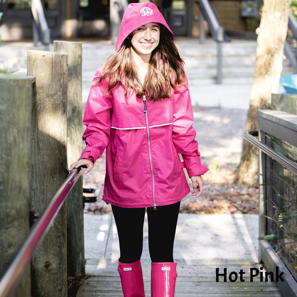 Lightweight New Englander Rain Jacket - Ladies