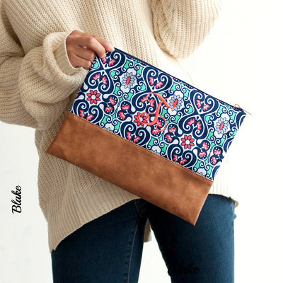 On The Go Zipper Pouch - Several Patterns Available