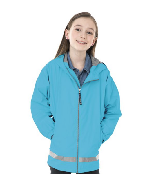 Lightweight New Englander Rain Jacket - Youth