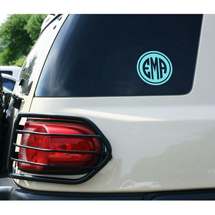 "5"" Custom Monogram Vinyl Decal"