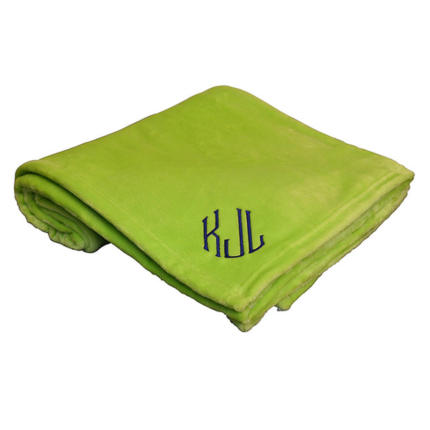 Softest Flannel Fleece Throw - Several Color Options