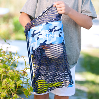 Draw String Mesh Bags - Three Pattern Choices