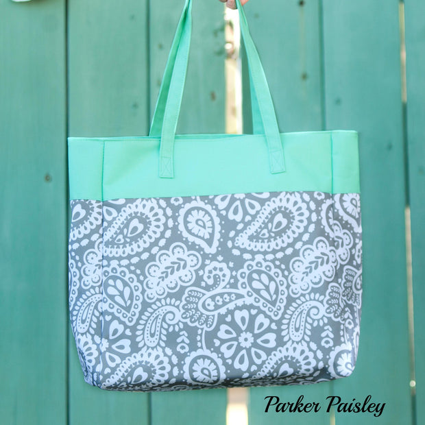 Patterned Essentials Totes