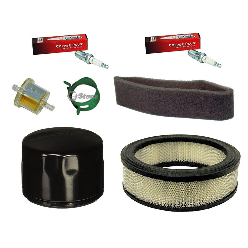 Tune Up Kit Air Fuel Oil Filters For 12 5-21 HP Engines 5119B