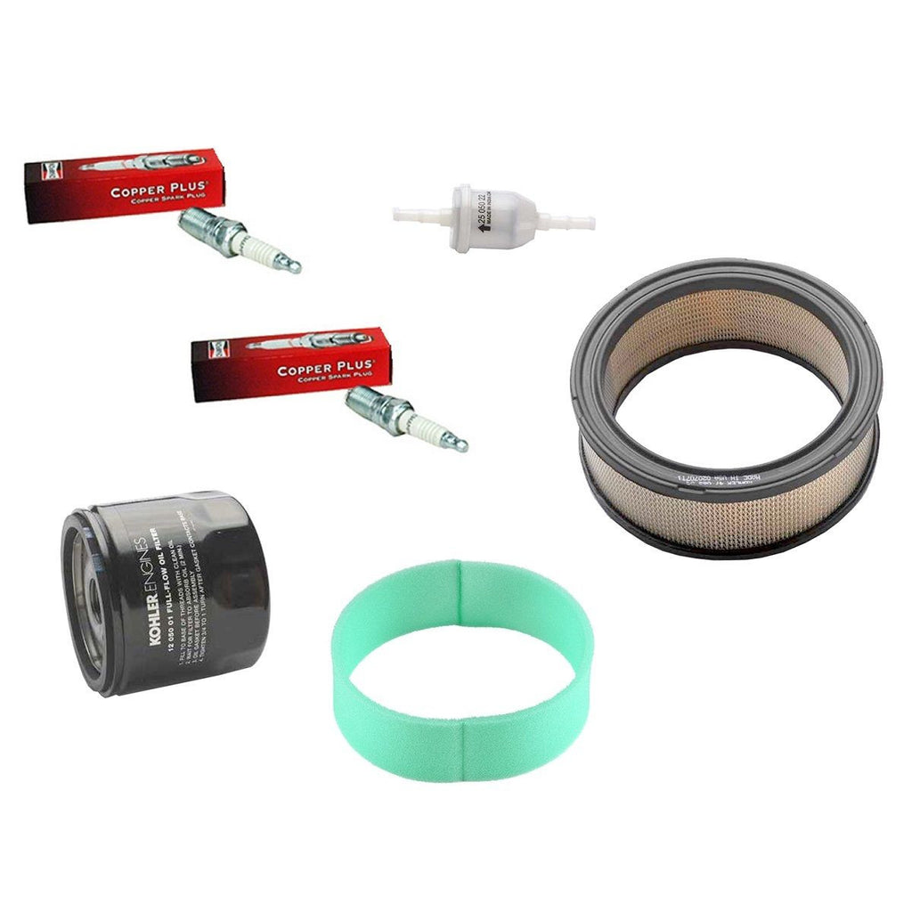 Oem Kohler Tune Up Kit With Air Fuel Oil Filters For Hp Engines Vanguard Filter 24