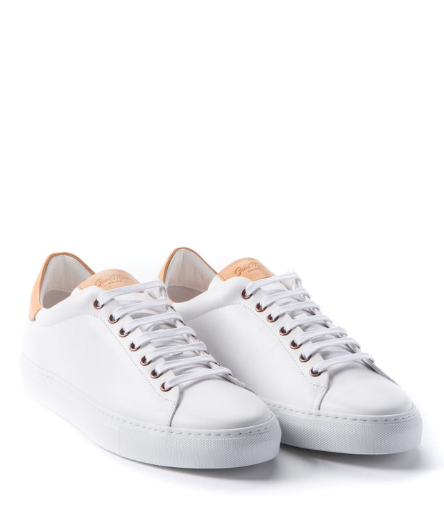 Goodman Brand White Legend Low-Top Leather Sneaker - Shoes - Goodman Brand - LALONDE's
