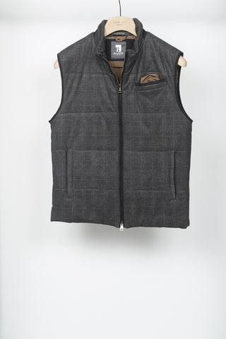 Blazer for Men Glencheck Vest - Vests - Blazer For Men - LALONDE's