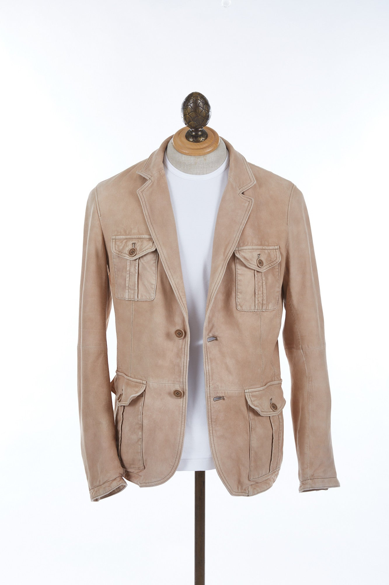GIMO'S Suede Leather Jacket - Outerwear - Gimo's - LALONDE's
