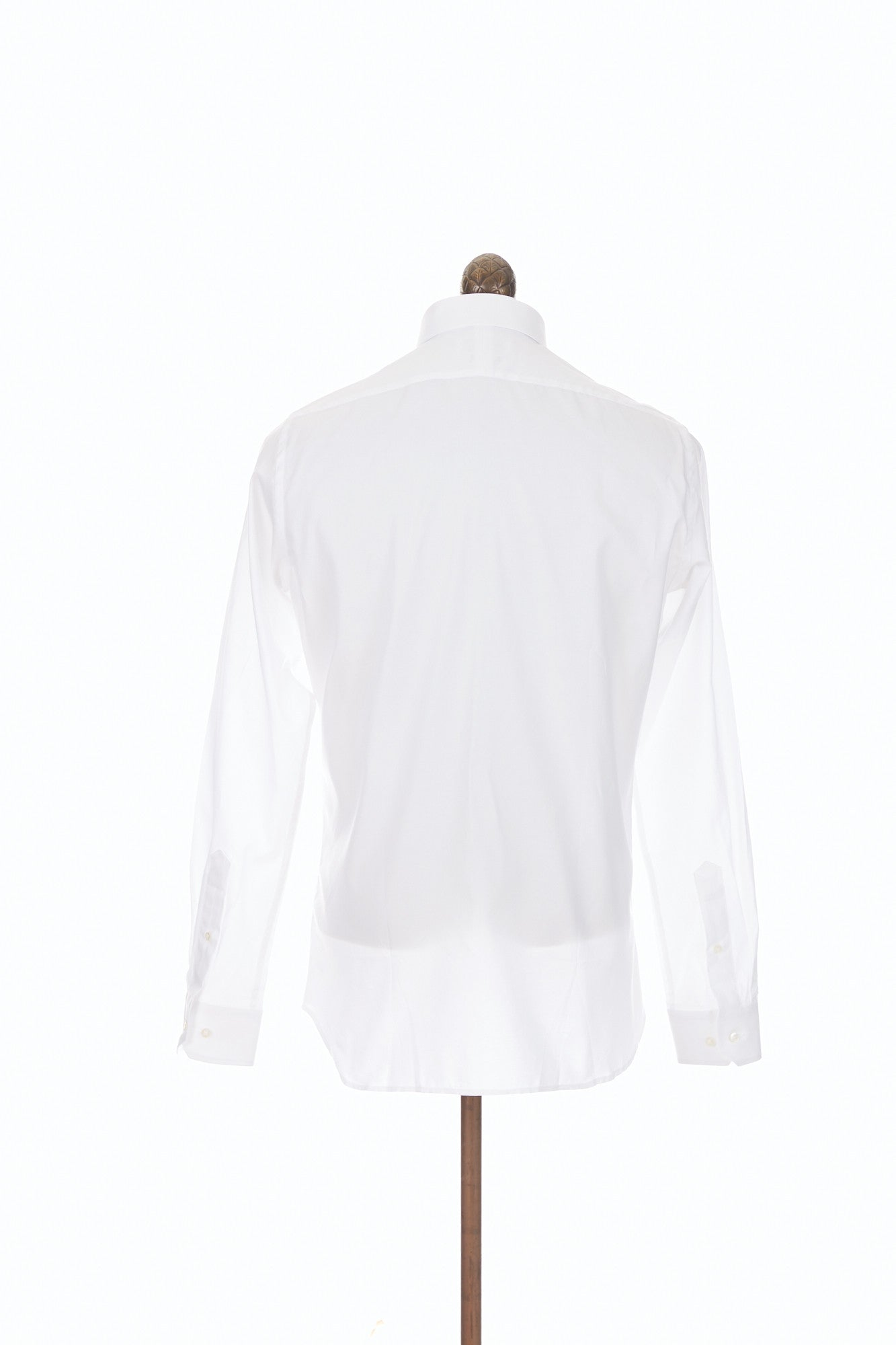 Blazer for Men White Oxford Button-Down Dress Shirt Back