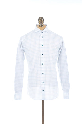 Eton Green Windowpane Shirt - 2620 73544 67 - Lalonde's Online Boutique