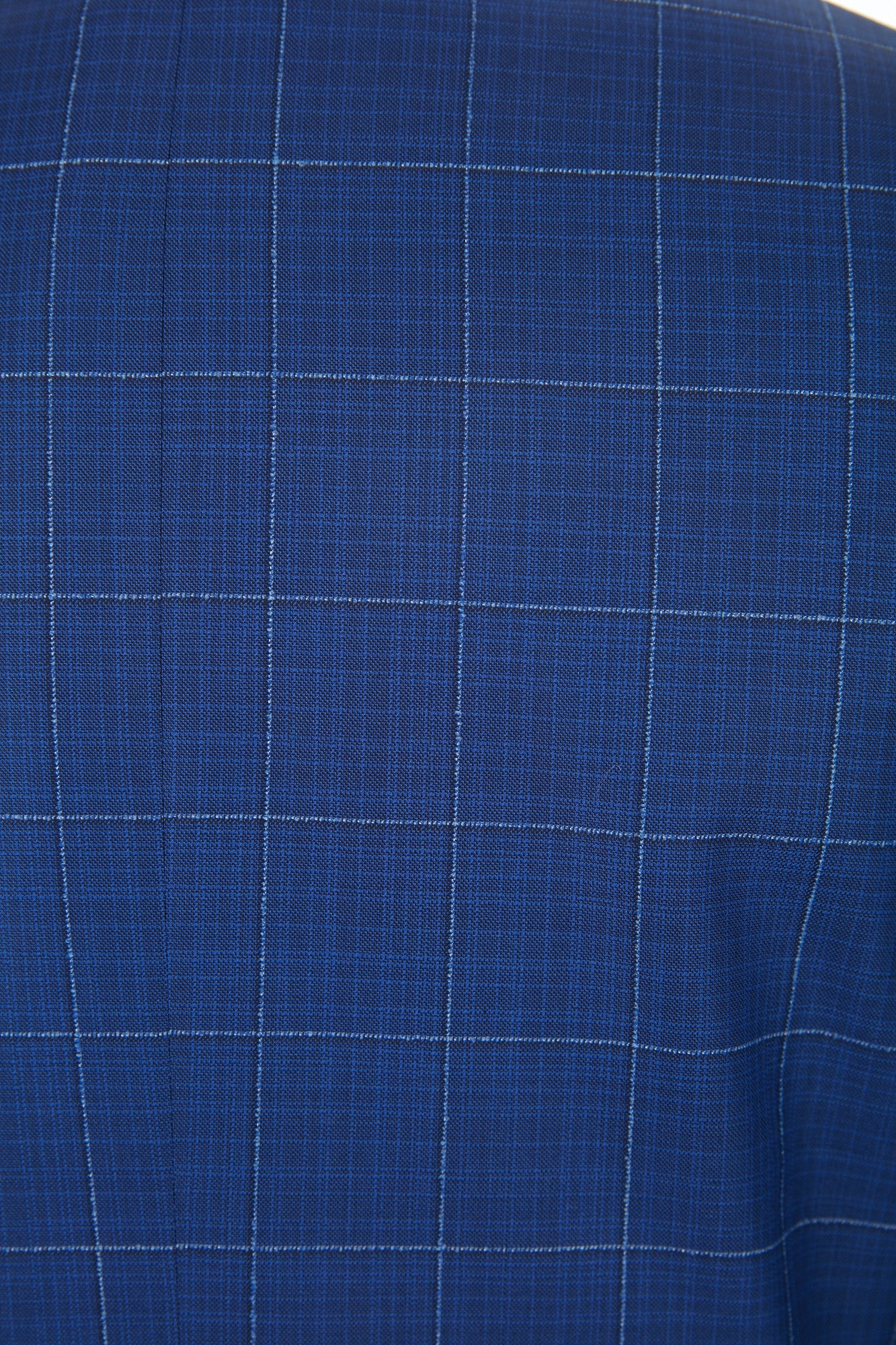 Canali Blue Windowpane Suit - Suits - Canali - LALONDE's
