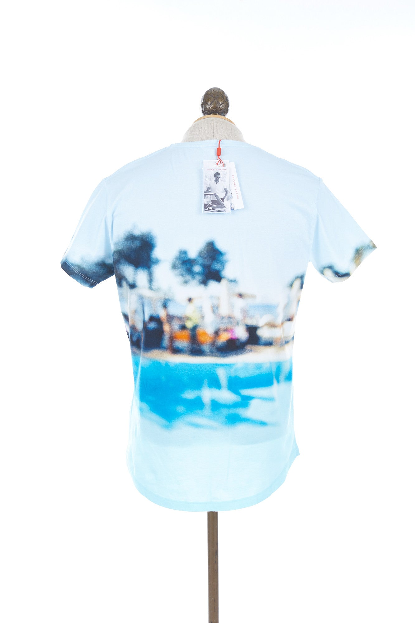 Orlebar Brown OB-T Pool Party Crew-Neck T-Shirt - 264910 Lalonde's Online Boutique