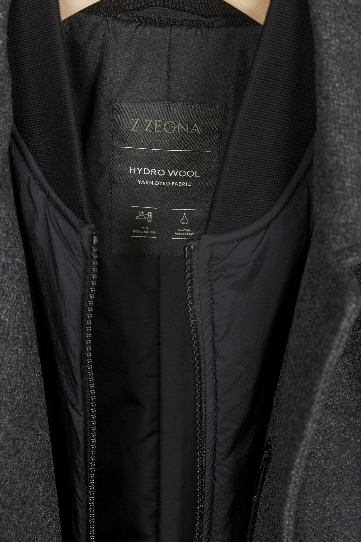 Z Zegna Wool Car Coat