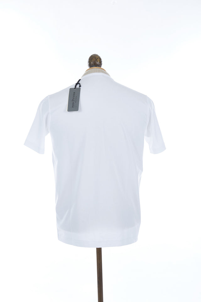 Phil Petter White Stretch T-Shirt