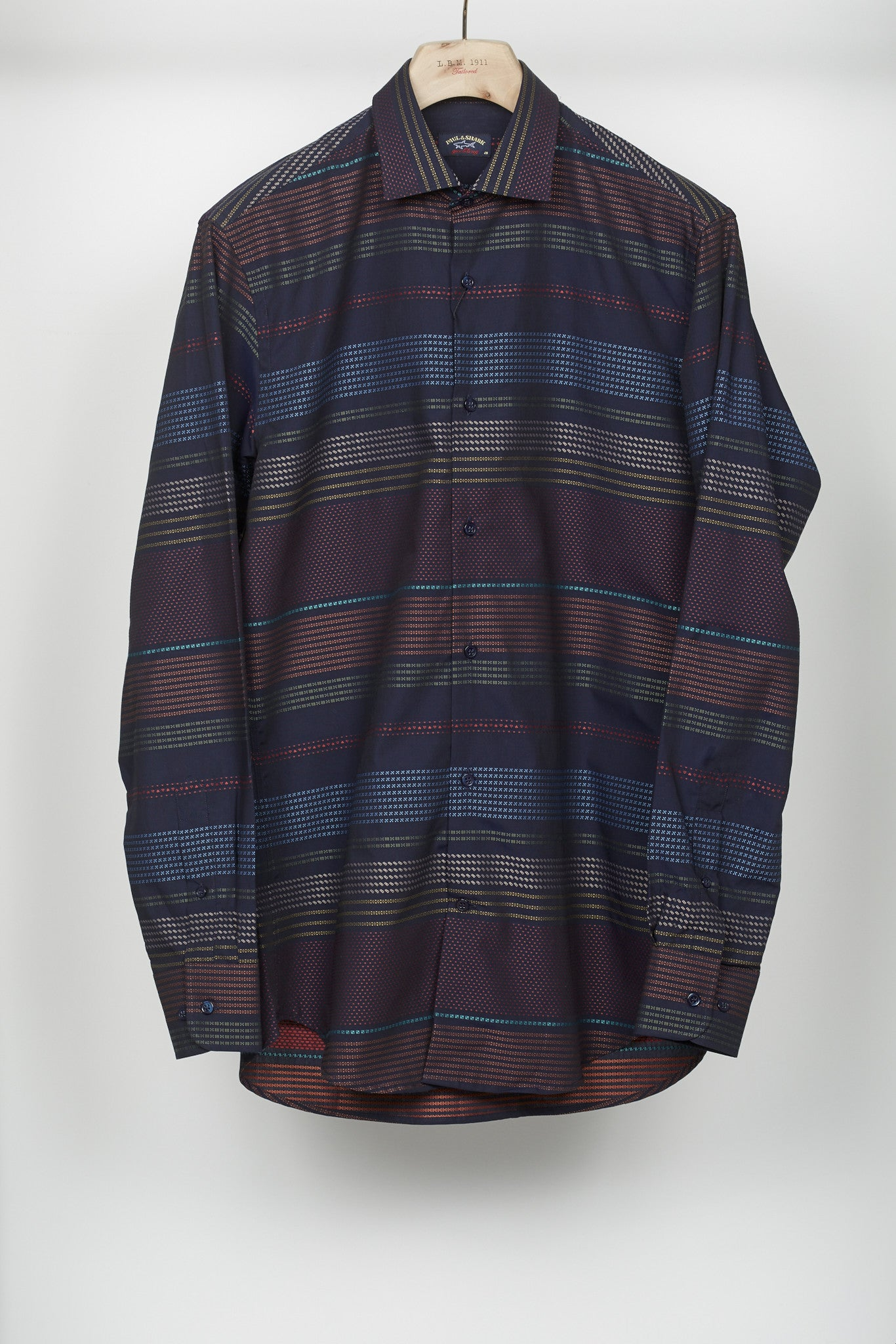 Paul & Shark Multi-Coloured Jacquard Shirt