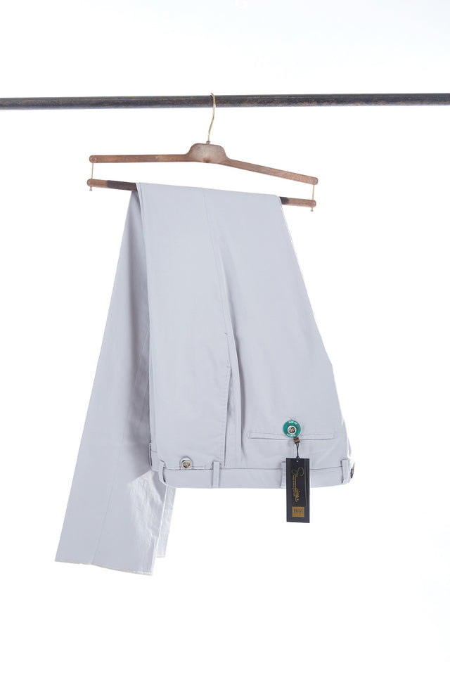 Hiltl Stone Supima Cotton Chinos