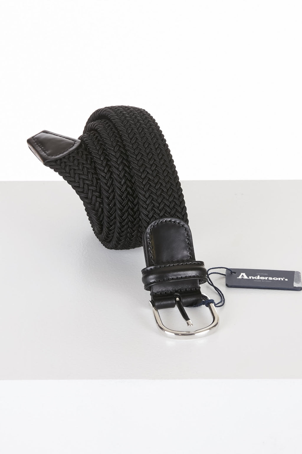 Anderson's Black Stretch Belt - Accessories - Anderson's - LALONDE's