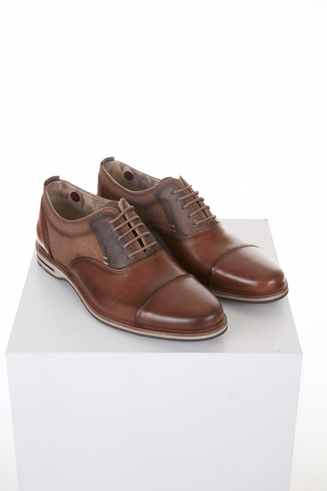 Lloyd Brown Casual Oxford Shoe Denton