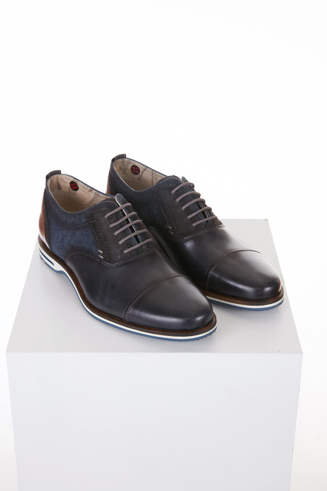 Lloyd 'Denton' Navy Casual Oxford Shoe Front