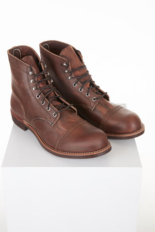 Red Wing 8085 'Copper' Iron Ranger Boot Front Lalonde's Menswear Boutique