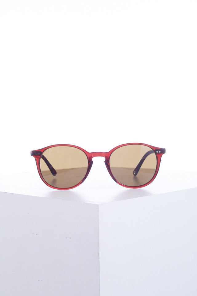 Dom Vetro Cherry Red Capretto Sunglasses - Accessories - Dom Vetro - LALONDE's
