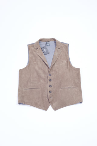 Eleventy Perforated Suede Vest - Vests - Eleventy - LALONDE's