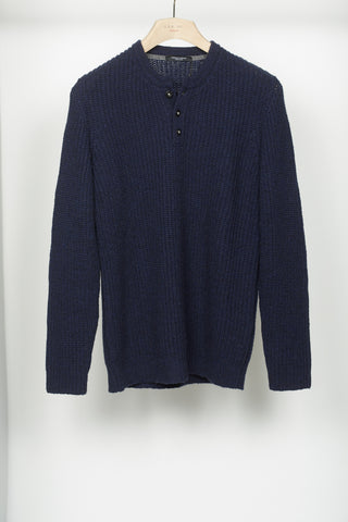 Roberto Collina 3-Button Crewneck Sweater - Sweaters - Roberto Collina - LALONDE's