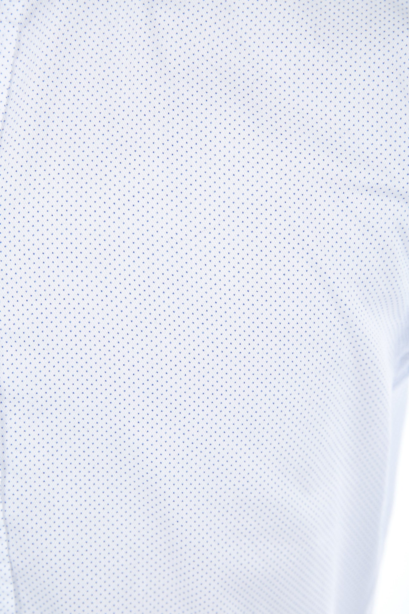 Eton White with Blue Pin Dot Shirt