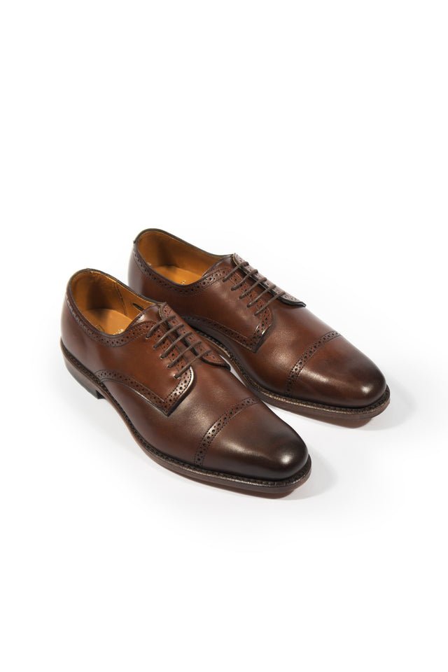 "Allen Edmonds ""Yorktown"" Dark Chili Shoe"