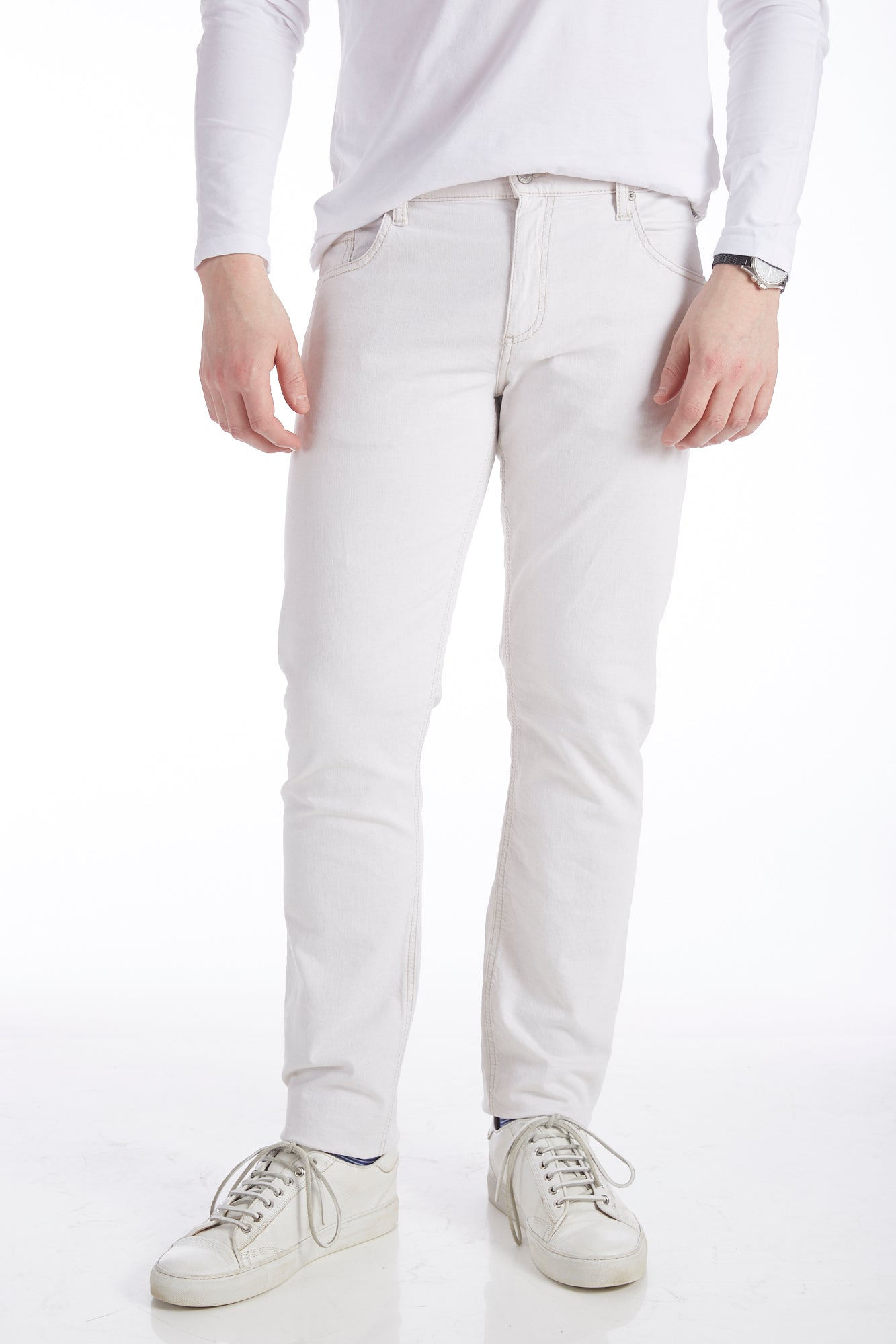 Alberto Dynamic Superfit Off-White Jeans - Pants - Alberto - LALONDE's