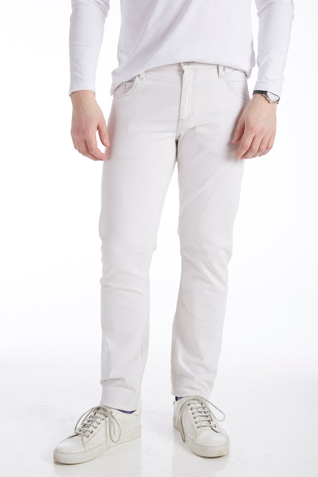 Alberto Dynamic Superfit White Jeans