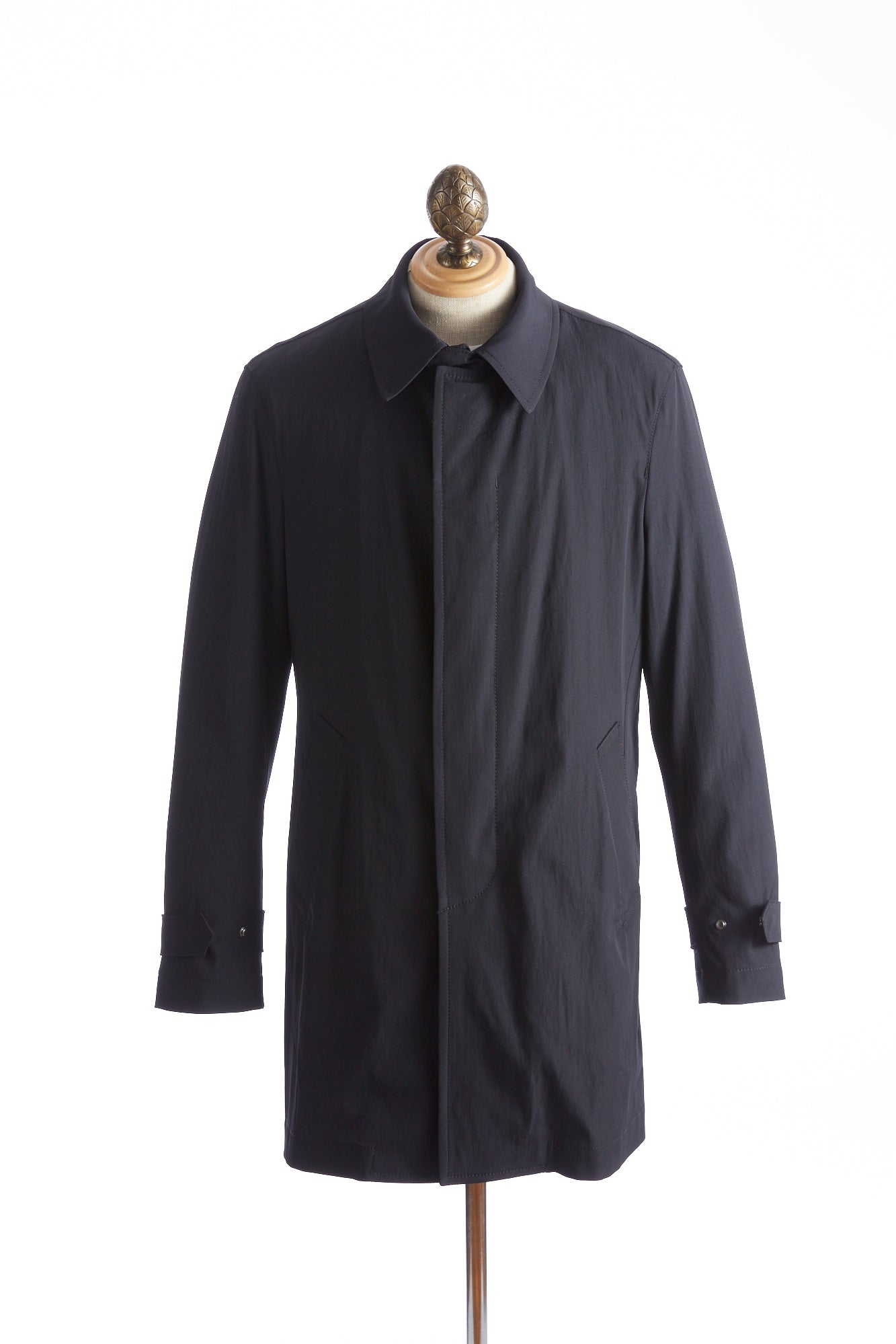 Baldessarini Thermore Quilted Navy Trench Coat