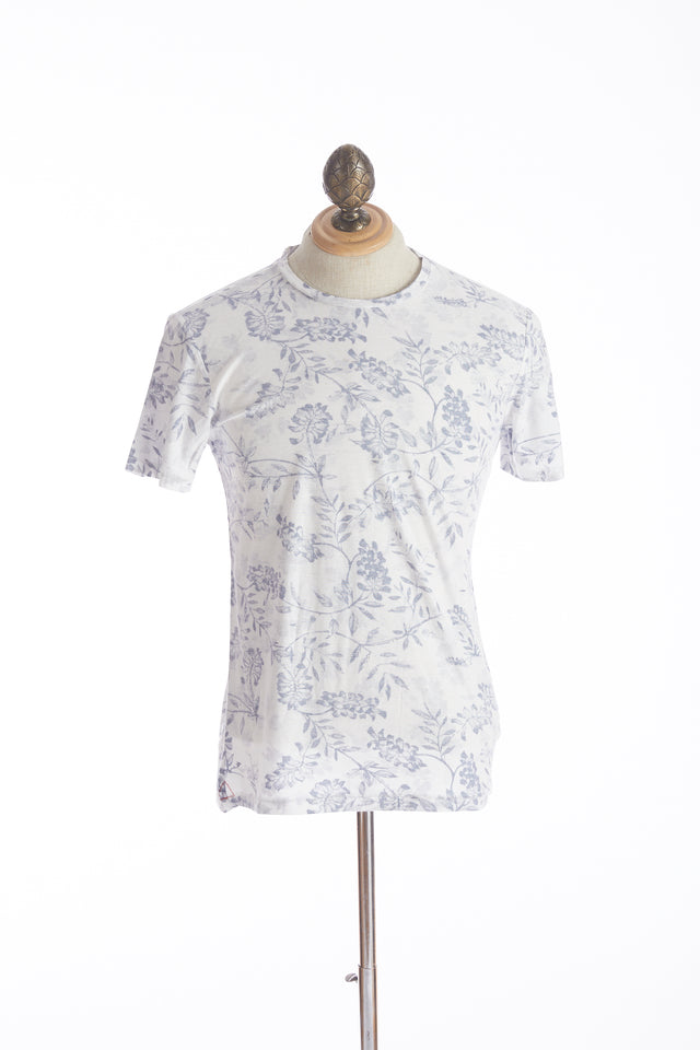 Benson Washed Floral Print T-Shirt - Shirts - Benson - LALONDE's
