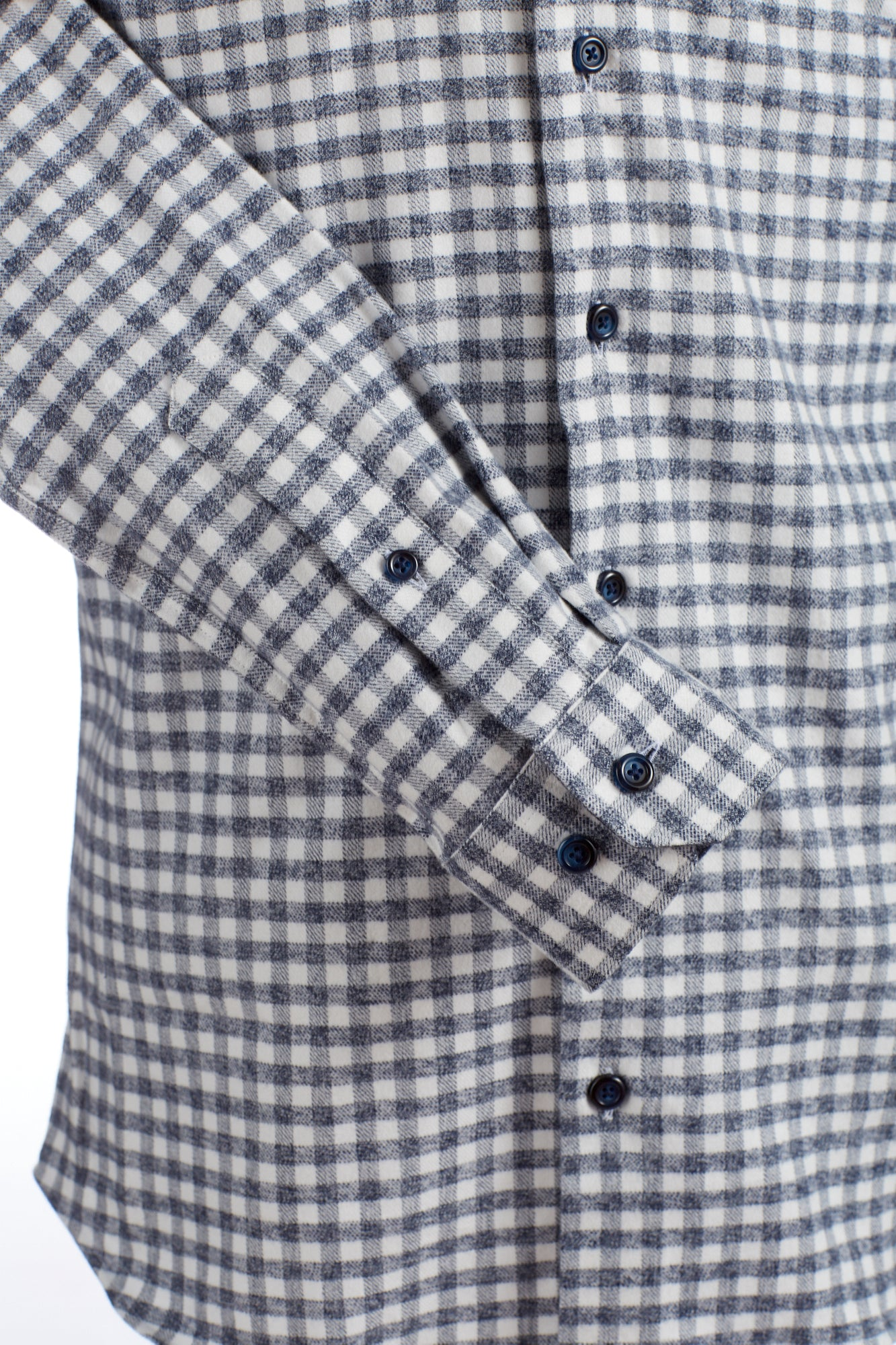 Blazer for Men Navy Flannel Check Shirt - Shirts - Blazer For Men - LALONDE's