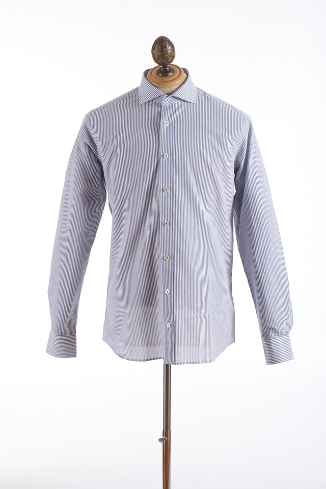 Blazer for Men Striped Seersucker Shirt