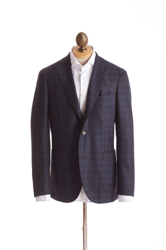 Boglioli 'K-Jacket' Blue Check Sport Jacket