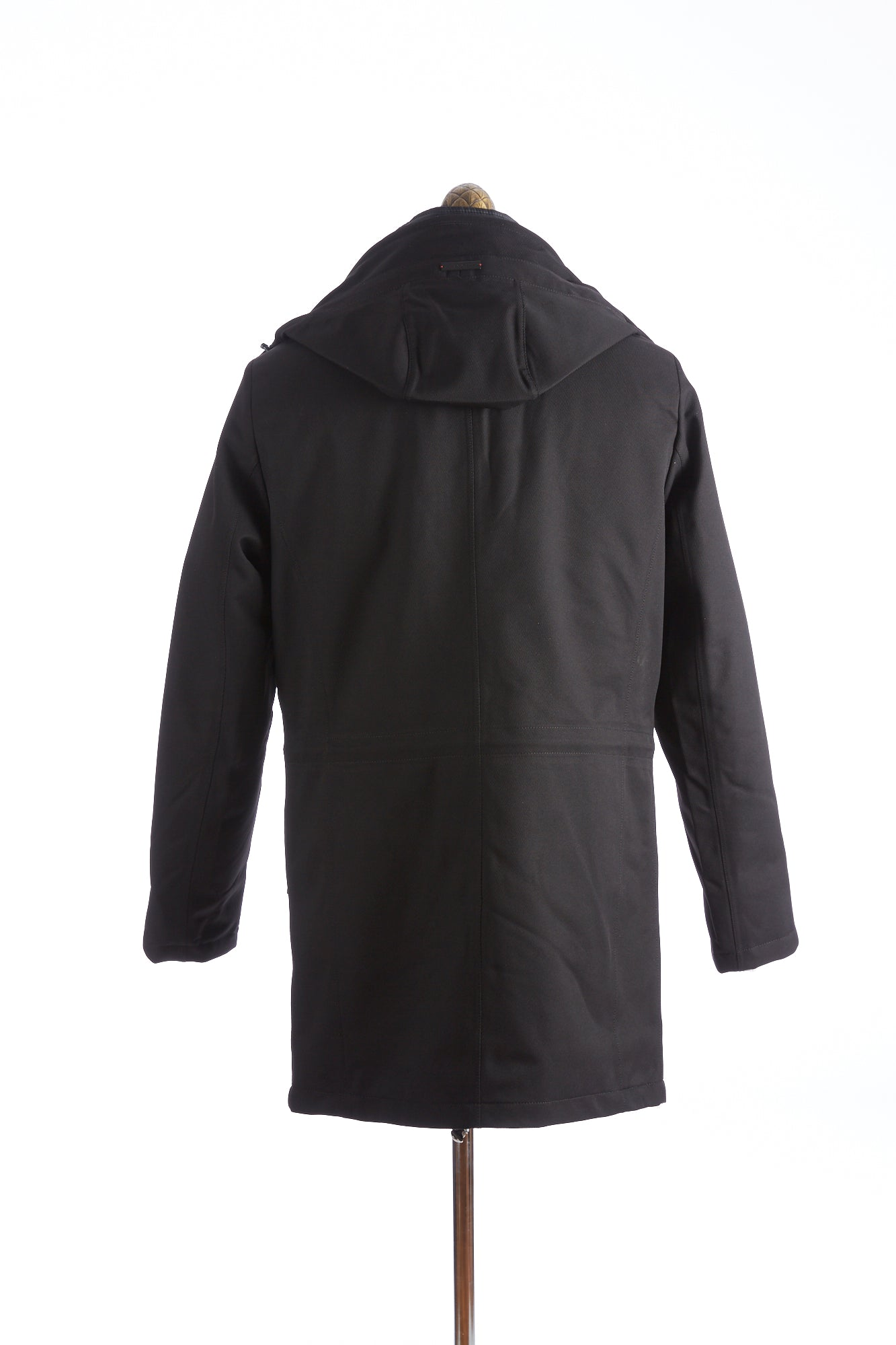 Bugatti Black Waterproof Hooded Parka Open Back