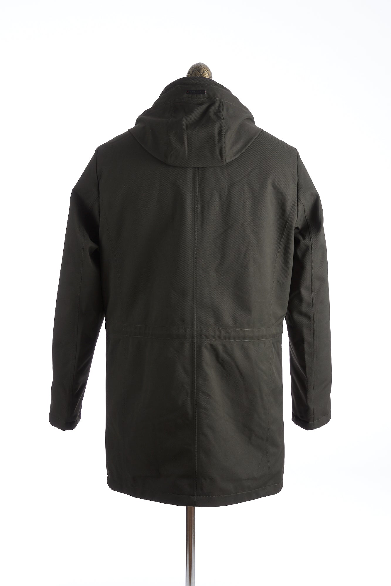 Bugatti Green Waterproof Hooded Parka Back