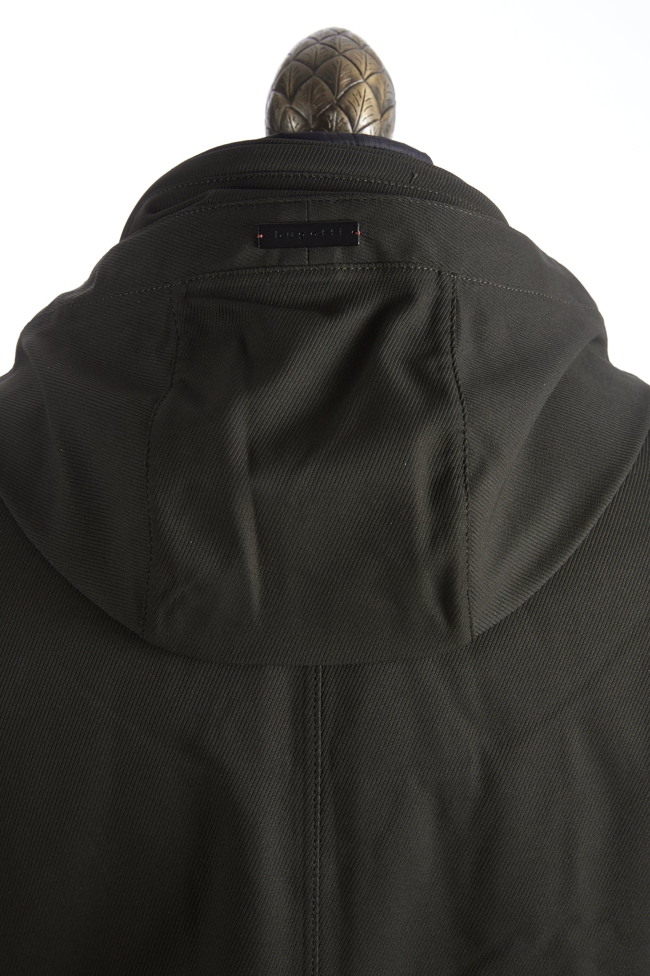 Bugatti Green Waterproof Hooded Parka Hood