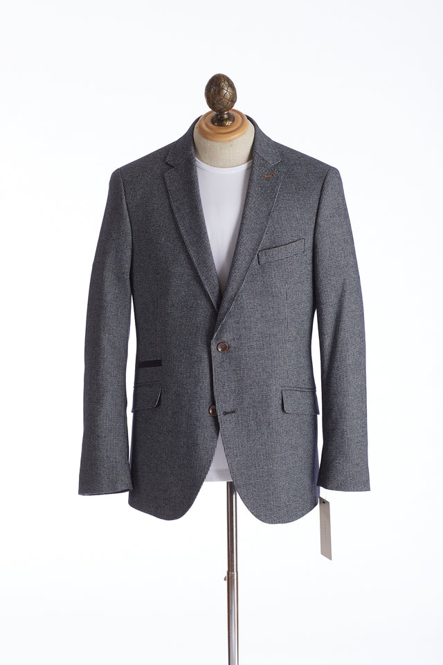 Bugatti Grey Houndstooth Sport Jacket