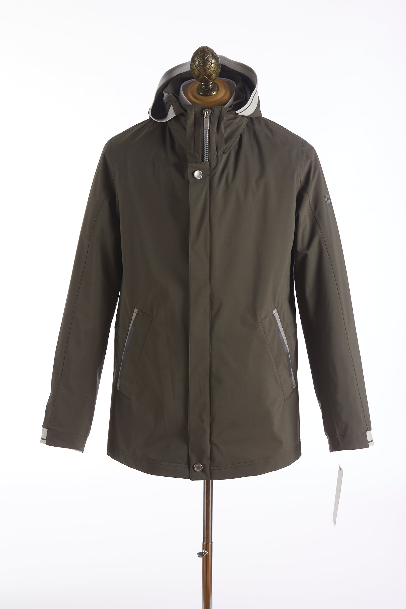 Bugatti Olive Waterproof Rainseries Jacket
