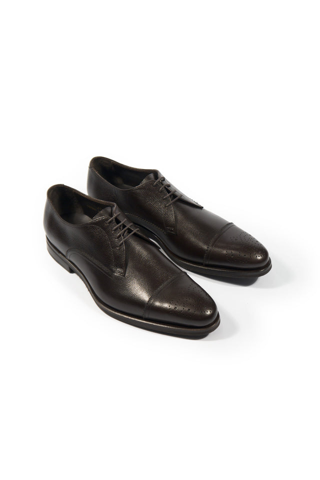 Canali Cap-Toe Derby - Shoes - Canali - LALONDE's