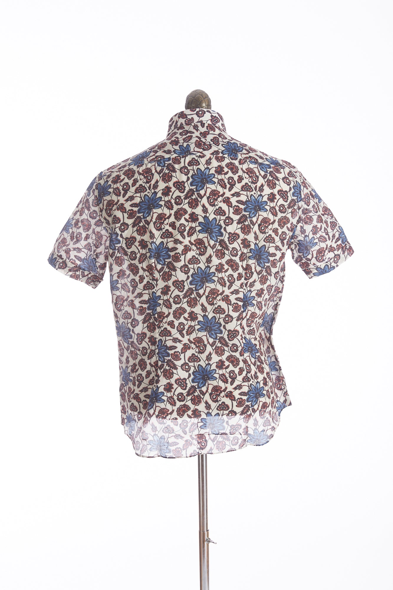 Culturata Abstract Floral Print Short Sleeve Shirt - Shirts - Culturata - LALONDE's