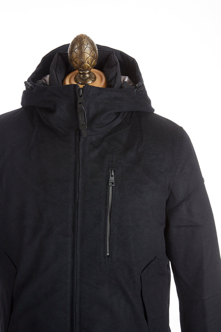 DUNO Hooded Wool-Blend Down Filled Winter Jacket - Outerwear - DUNO - LALONDE's