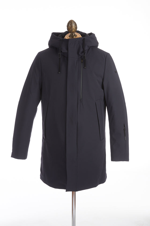 DUNO Navy Down Filled Winter Parka - Outerwear - DUNO - LALONDE's